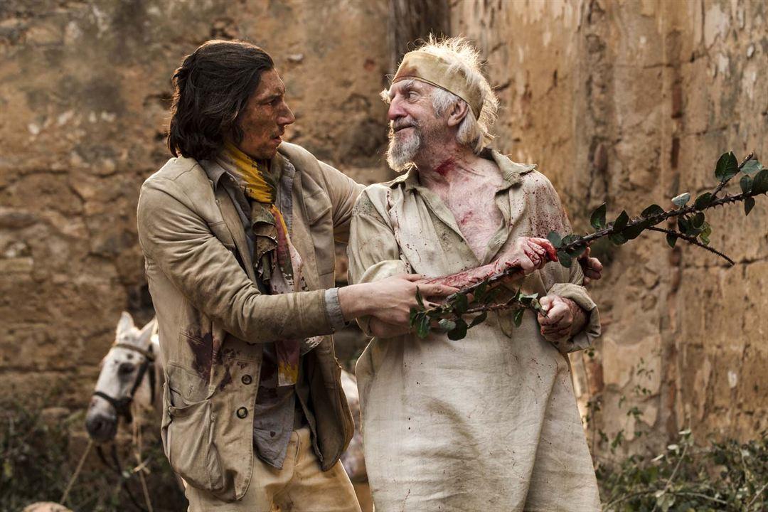 The Man Who Killed Don Quixote : Bild Adam Driver, Jonathan Pryce