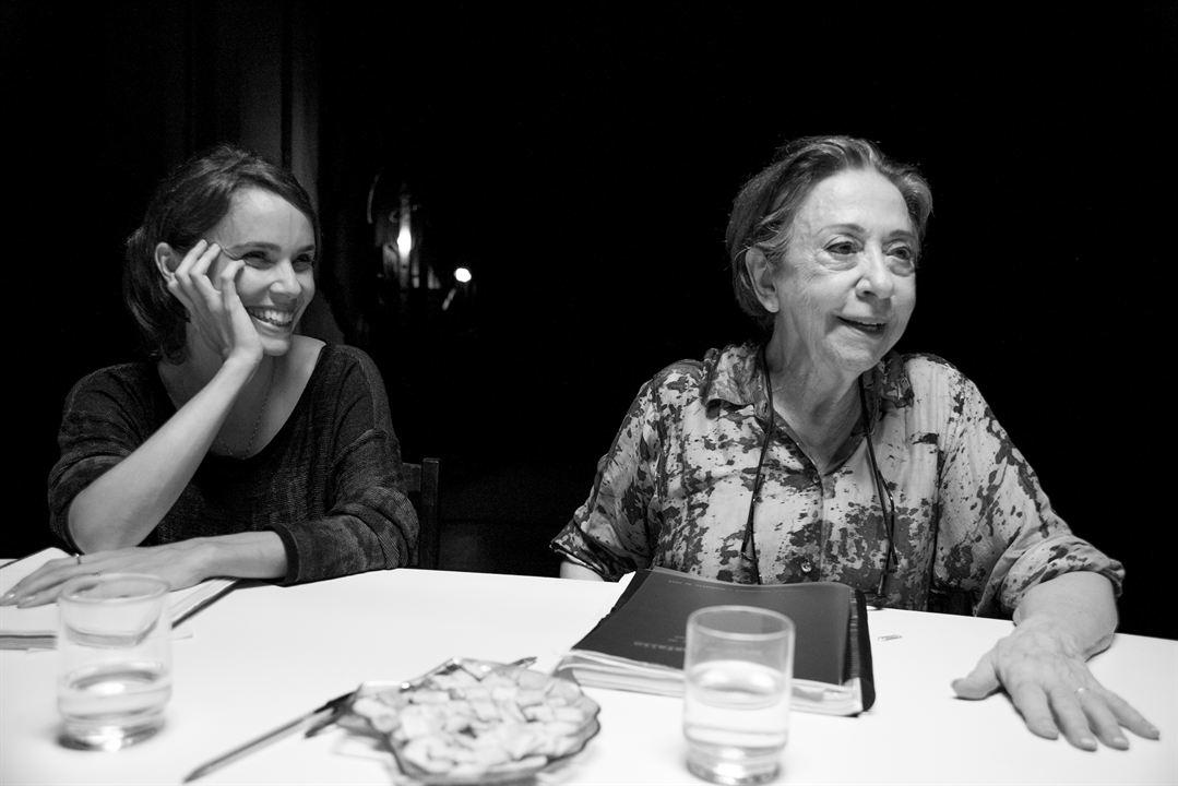 O Beijo no Asfalto: Fernanda Montenegro, Débora Falabella