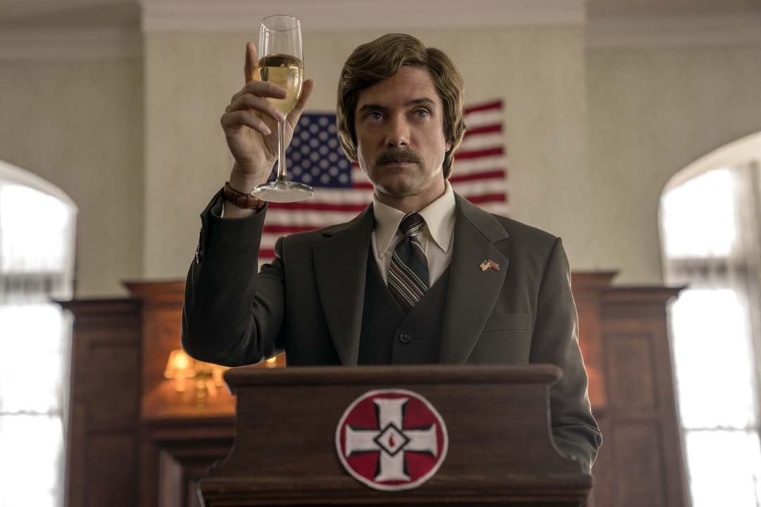 BlacKkKlansman : Bild Topher Grace