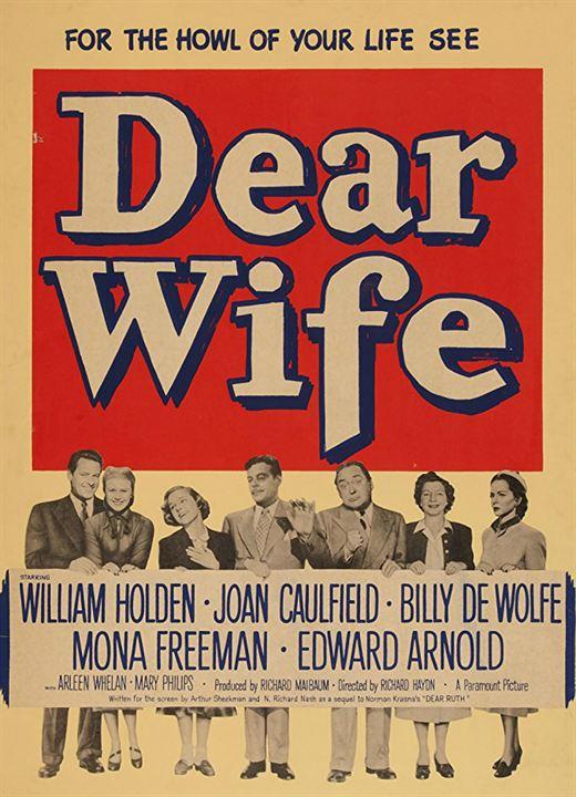 Dear Wife : Kinoposter