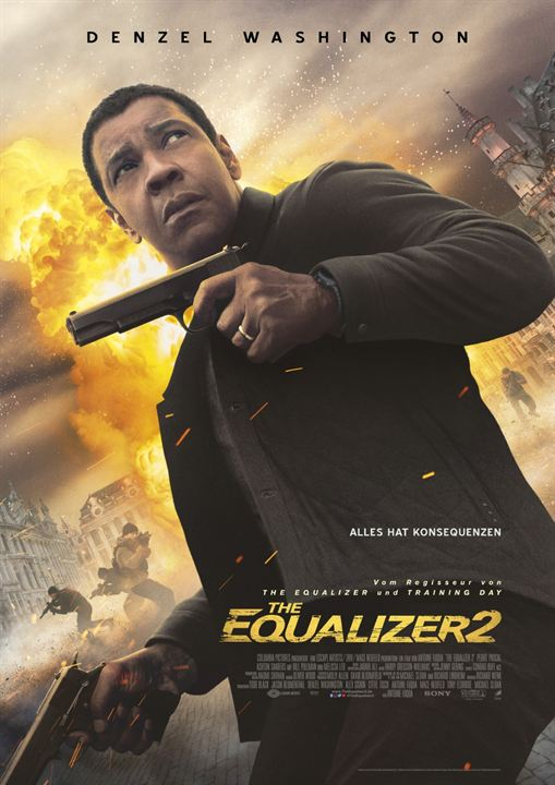 The Equalizer 2 : Kinoposter
