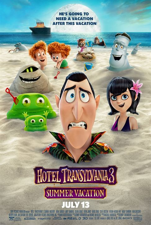 Hotel Transsilvanien 3 - Ein Monster Urlaub : Kinoposter