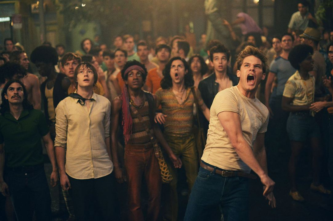 Stonewall : Bild Alexandre Nachi, Caleb Landry Jones, Jonny Beauchamp, Vladimir Alexis