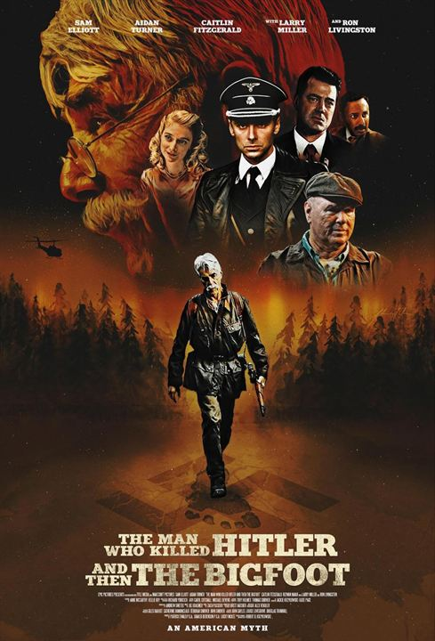 The Man Who Killed Hitler And Then The Bigfoot : Kinoposter