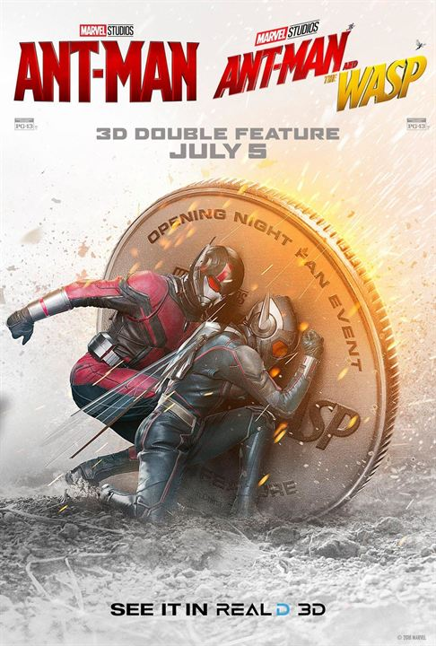 Ant-Man And The Wasp : Kinoposter