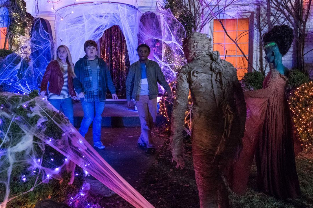 Gänsehaut 2: Gruseliges Halloween : Bild Caleel Harris, Jeremy Ray Taylor, Madison Iseman