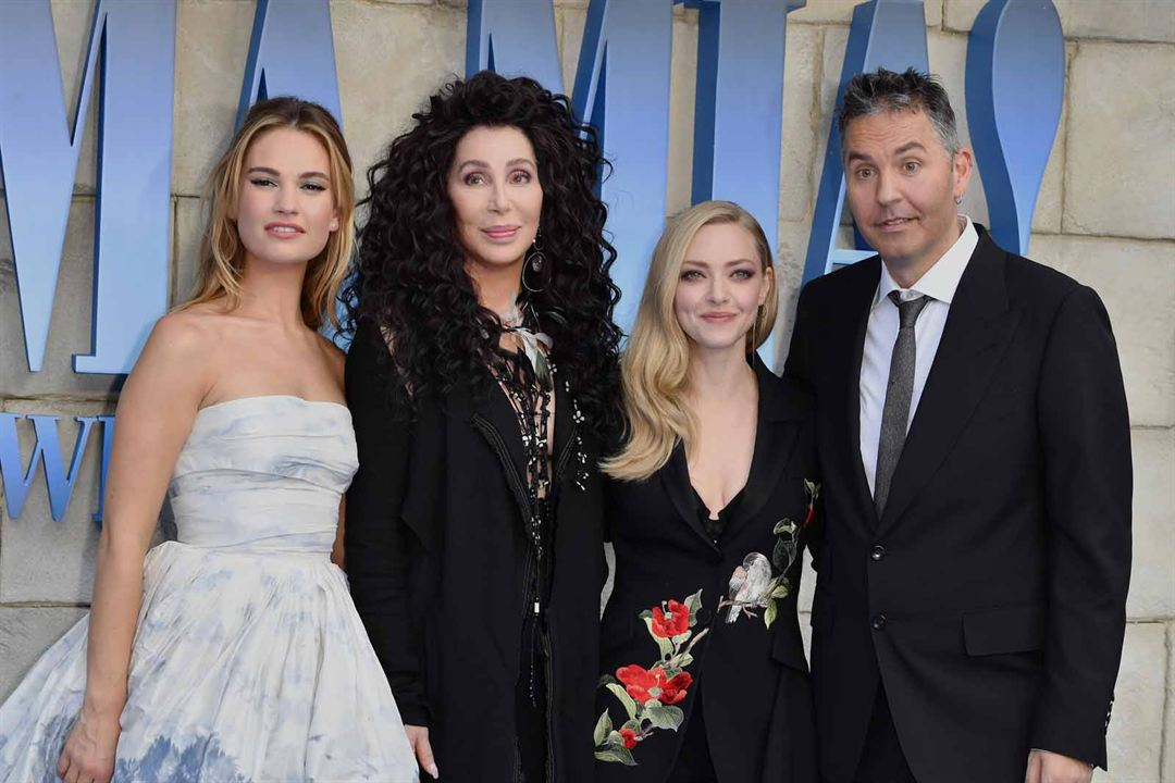 Mamma Mia 2: Here We Go Again : Vignette (magazine) Amanda Seyfried, Cher, Lily James, Ol Parker