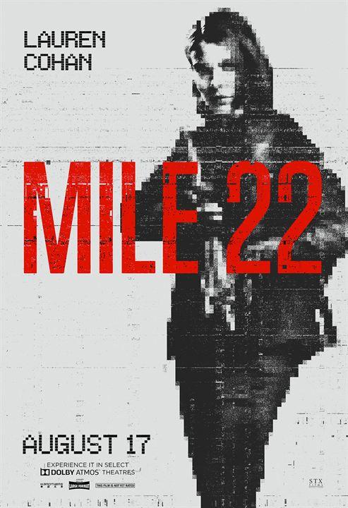 Mile 22 : Kinoposter
