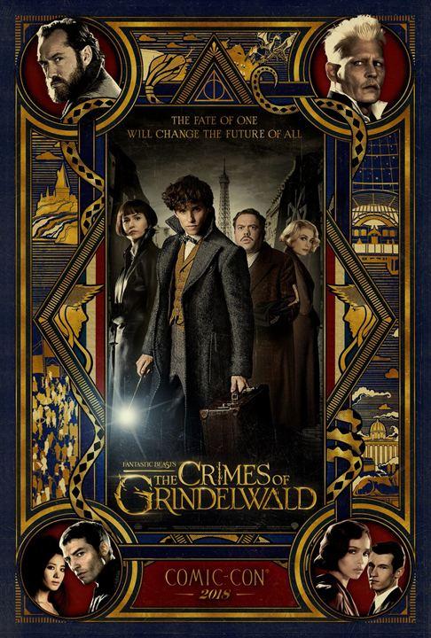 Phantastische Tierwesen: Grindelwalds Verbrechen : Kinoposter