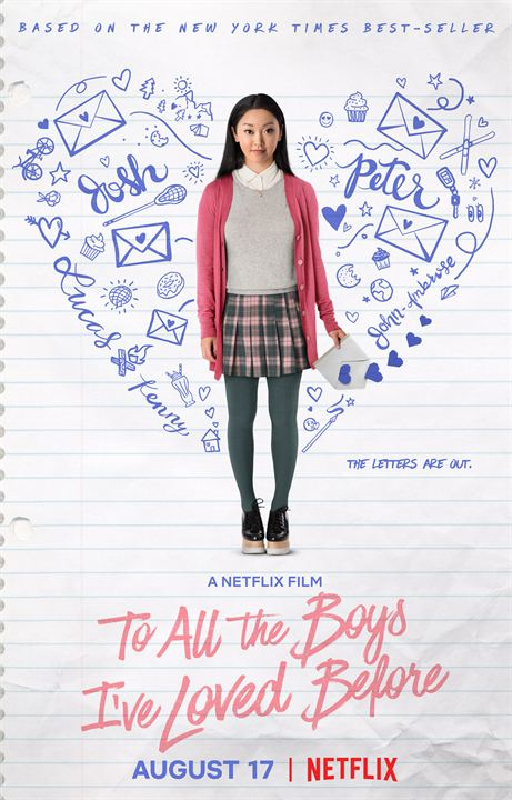 To All The Boys I've Loved Before : Kinoposter