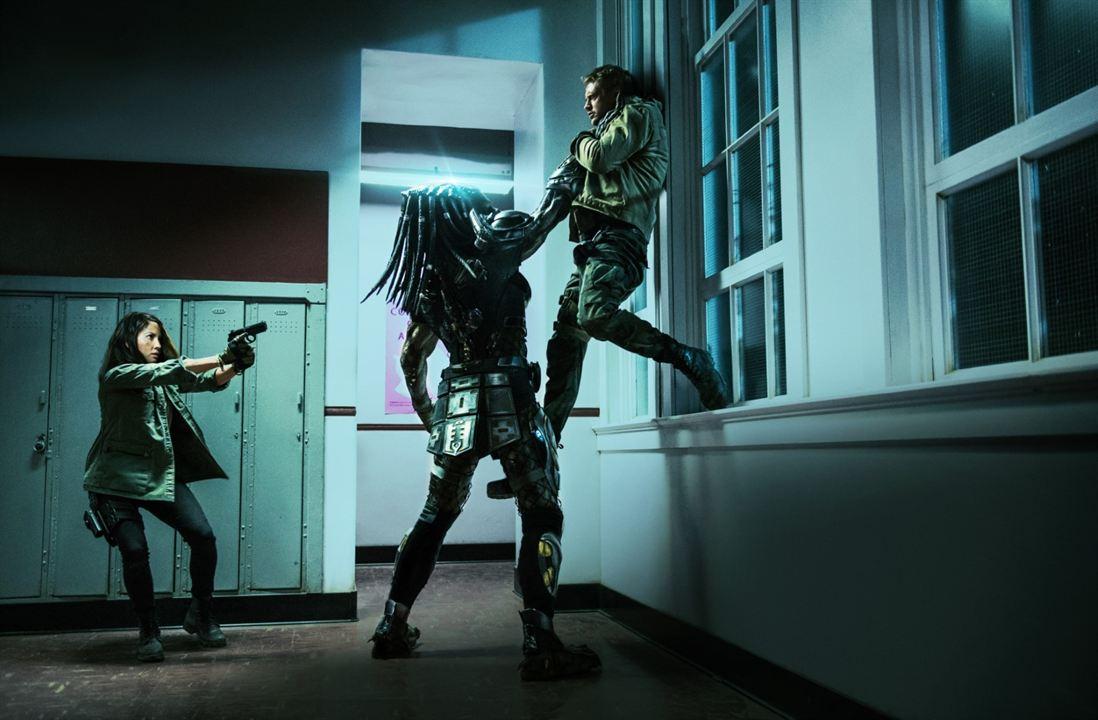 Predator - Upgrade : Bild Boyd Holbrook, Olivia Munn