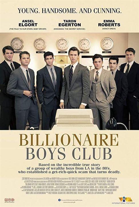 Billionaire Boys Club : Kinoposter