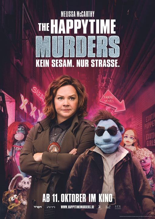 The Happytime Murders : Kinoposter