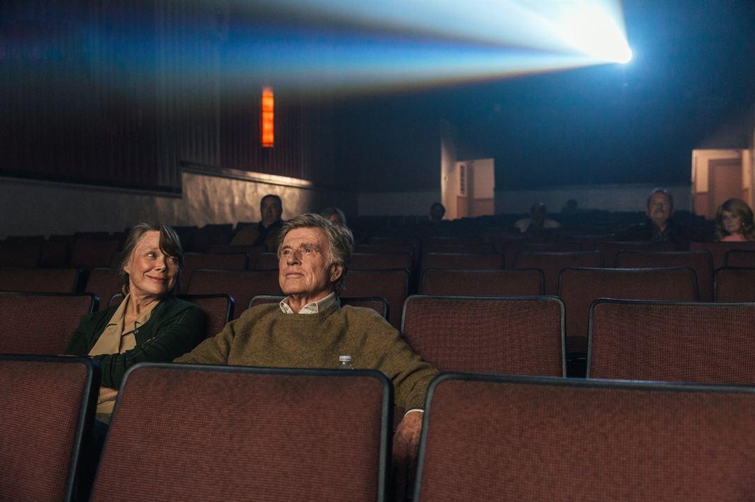 Ein Gauner und Gentleman : Bild Robert Redford, Sissy Spacek