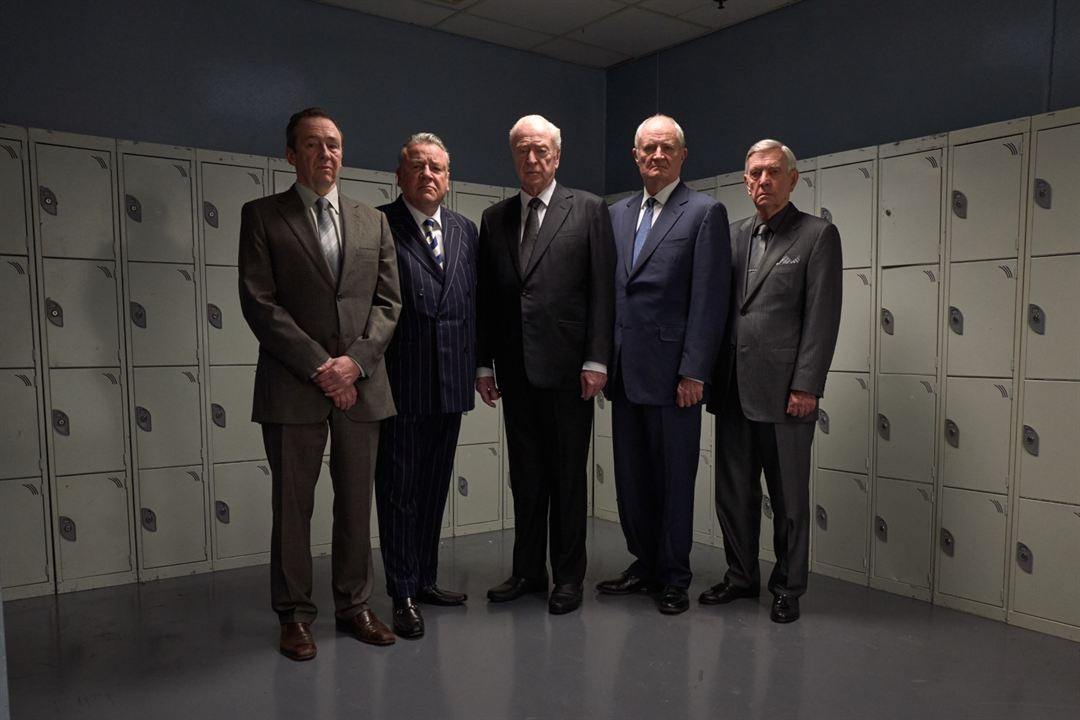 Ein letzter Job : Bild Jim Broadbent, Michael Caine, Paul Whitehouse, Ray Winstone, Tom Courtenay