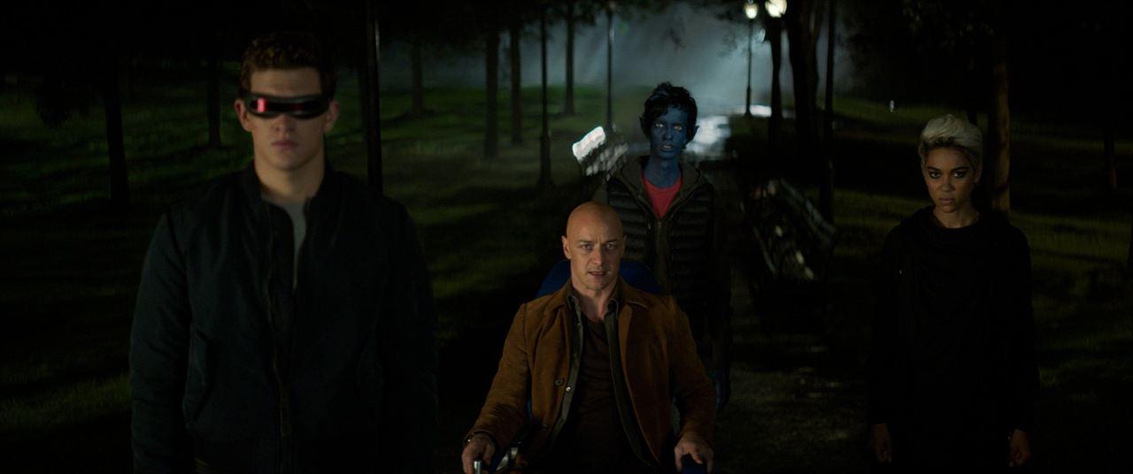 X-Men: Dark Phoenix : Bild Alexandra Shipp, James McAvoy, Kodi Smit-McPhee, Tye Sheridan