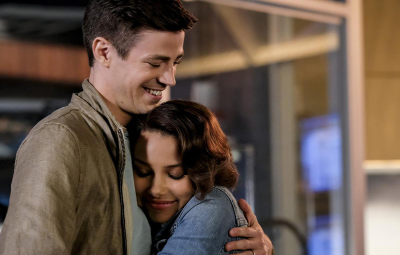 Kinoposter Grant Gustin, Jessica Parker Kennedy