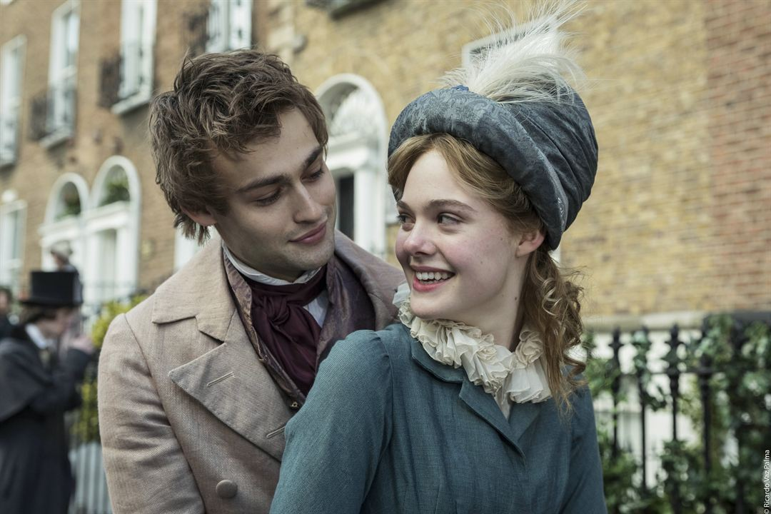 Mary Shelley: Douglas Booth, Elle Fanning