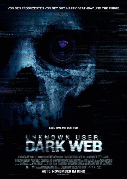 Unknown User 2: Dark Web : Kinoposter