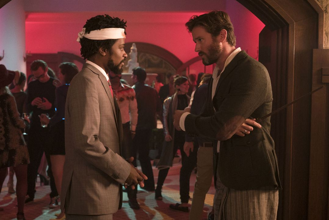 Sorry To Bother You : Bild Armie Hammer, Lakeith Stanfield