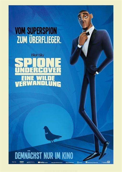 Spione undercover - Eine wilde Verwandlung : Kinoposter