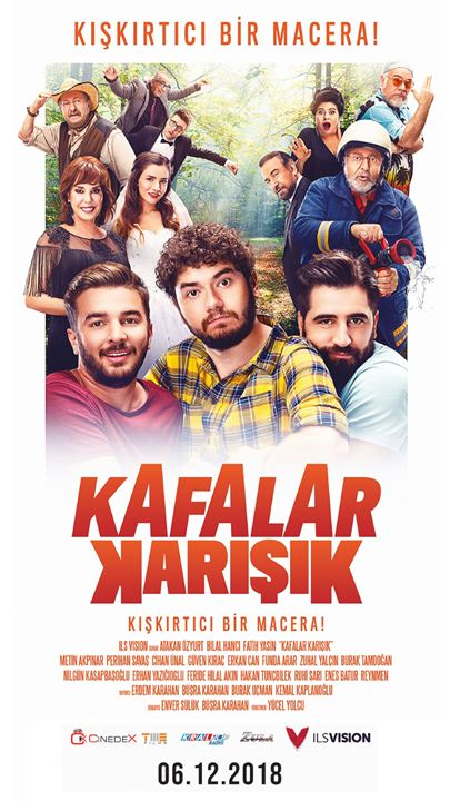 Kafalar Karisik : Kinoposter