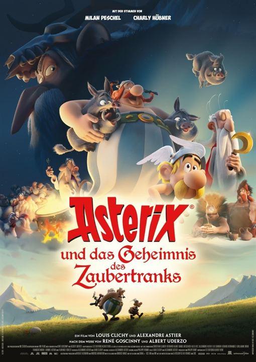 Asterix und das Geheimnis des Zaubertranks : Kinoposter