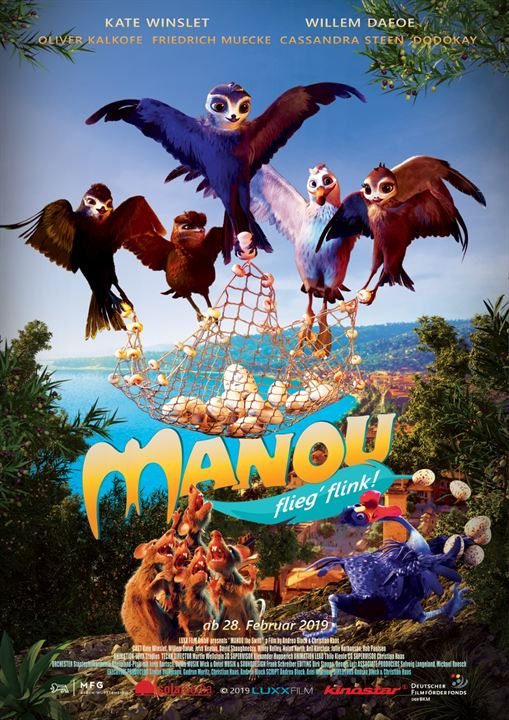 Manou – flieg' flink! : Kinoposter