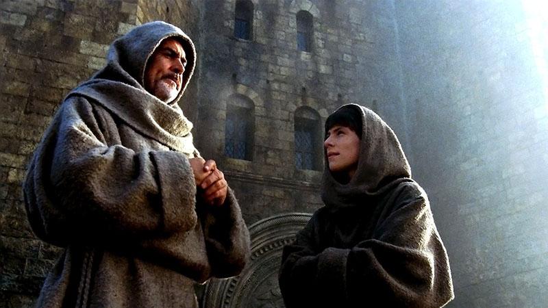 Der Name der Rose : Bild Christian Slater, Sean Connery