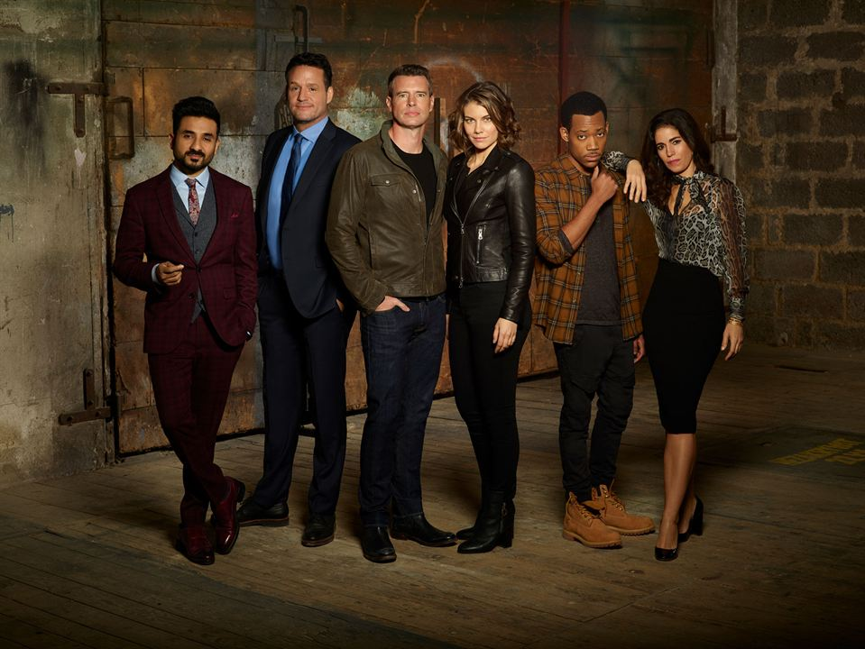 Bild Ana Ortiz, Josh Hopkins, Lauren Cohan, Scott Foley, Tyler James Williams