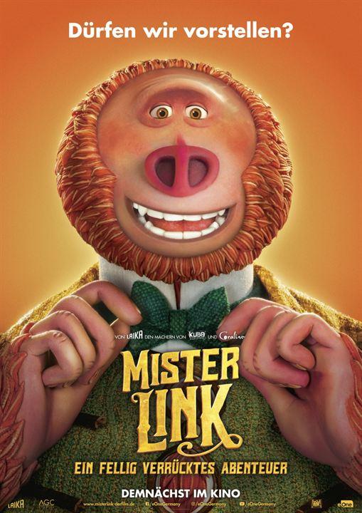 Mister Link - Ein fellig verrücktes Abenteuer : Kinoposter