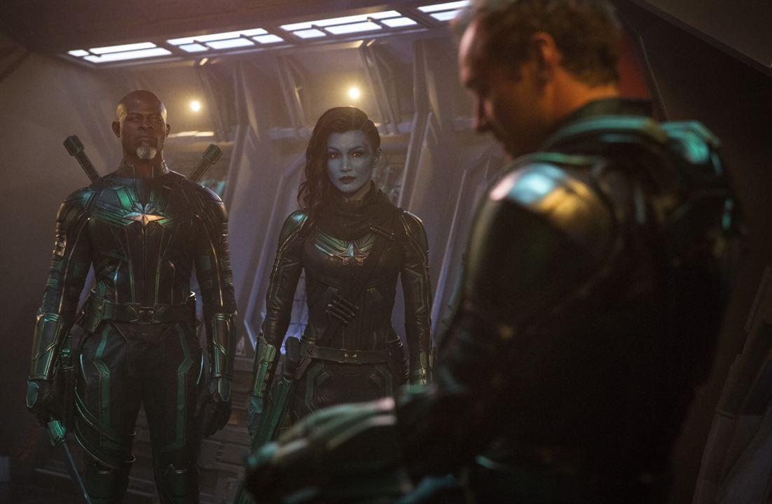 Captain Marvel : Bild Djimon Hounsou, Gemma Chan, Jude Law