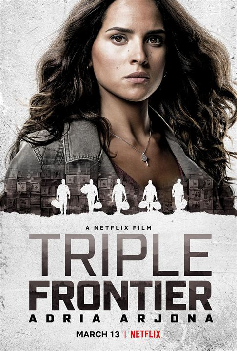 Triple Frontier : Kinoposter