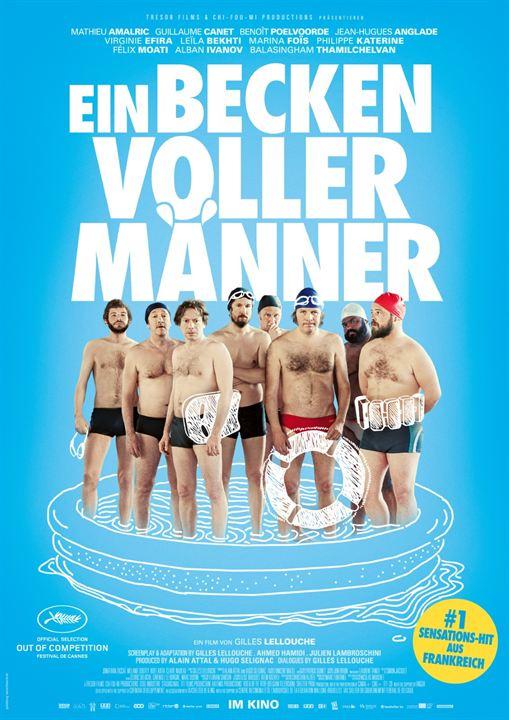 Ein Becken voller Männer : Kinoposter