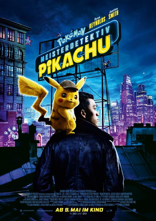 Pokémon Meisterdetektiv Pikachu : Kinoposter