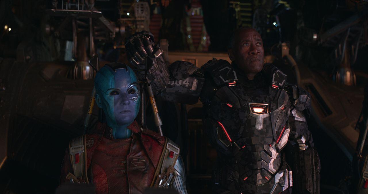 Avengers 4: Endgame : Bild Don Cheadle, Karen Gillan
