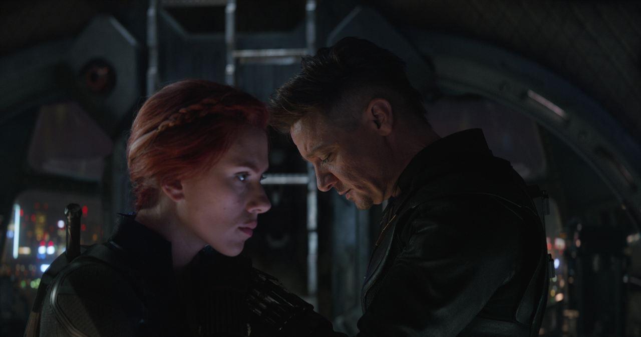 Avengers 4: Endgame : Bild Jeremy Renner, Scarlett Johansson