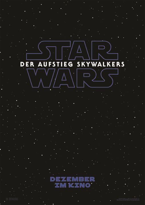 Star Wars 9: Der Aufstieg Skywalkers : Kinoposter
