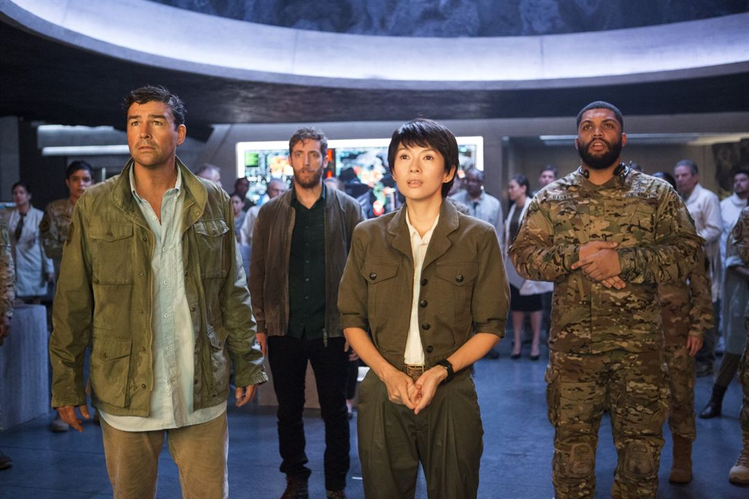 Godzilla 2: King Of The Monsters : Bild Kyle Chandler, O'Shea Jackson Jr., Thomas Middleditch, Ziyi Zhang