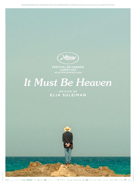 It Must Be Heaven : Kinoposter
