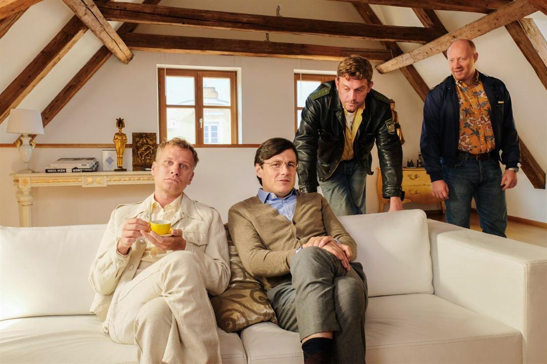 Leberkäsjunkie : Bild Manuel Rubey, Robert Stadlober, Sebastian Bezzel, Simon Schwarz