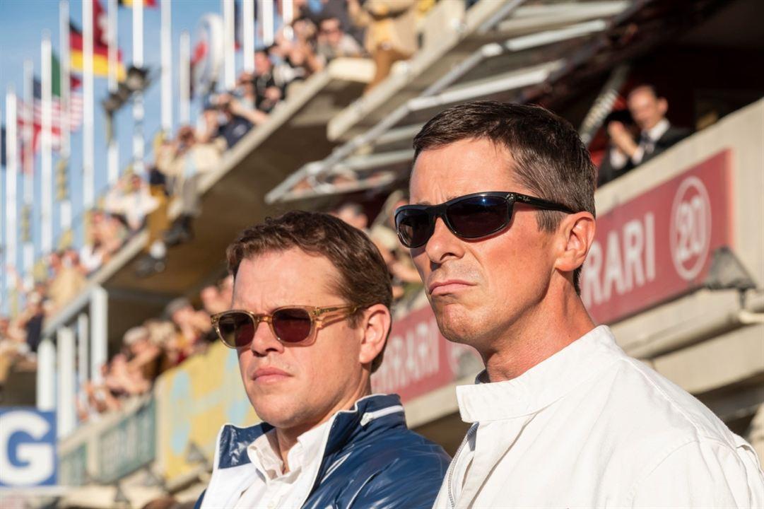Le Mans 66 - Gegen jede Chance : Bild Christian Bale, Matt Damon