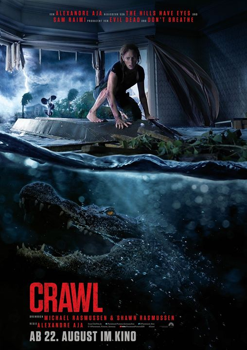 Crawl : Kinoposter
