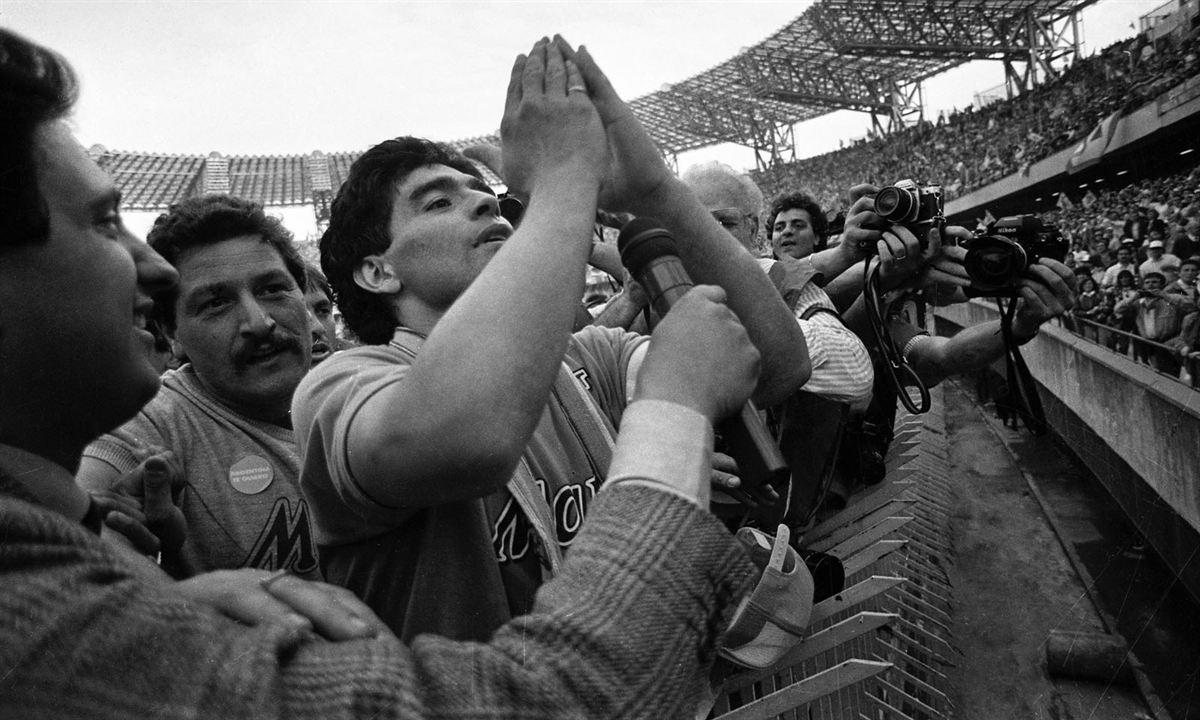 Diego Maradona : Bild Diego Maradona