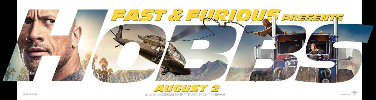 Fast & Furious: Hobbs & Shaw : Kinoposter