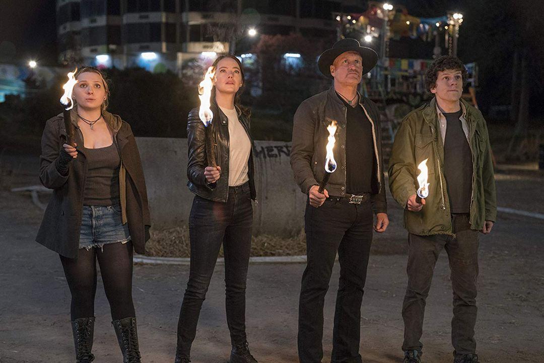 Zombieland 2: Doppelt hält besser : Bild Abigail Breslin, Emma Stone, Jesse Eisenberg, Woody Harrelson