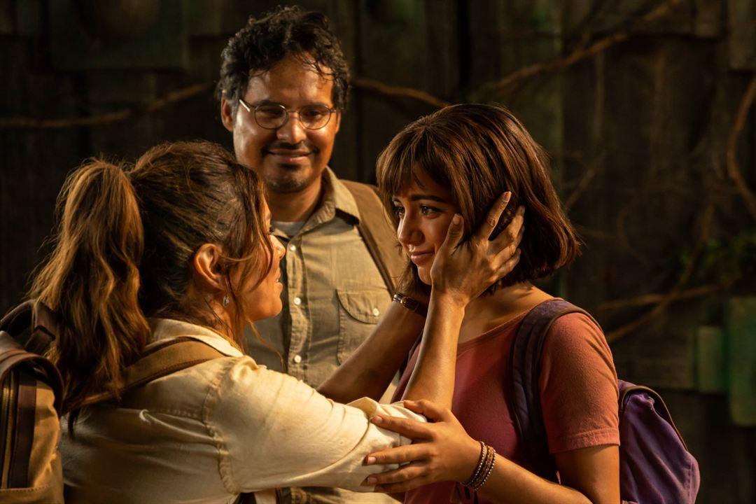 Dora und die goldene Stadt : Bild Eva Longoria, Isabela Merced, Michael Peña