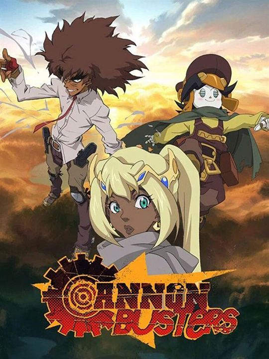 Cannon Busters : Kinoposter