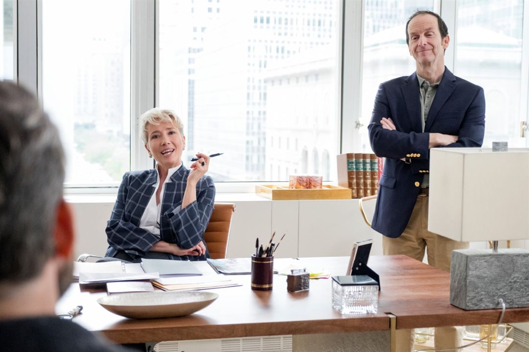Late Night : Bild Denis O'Hare, Emma Thompson