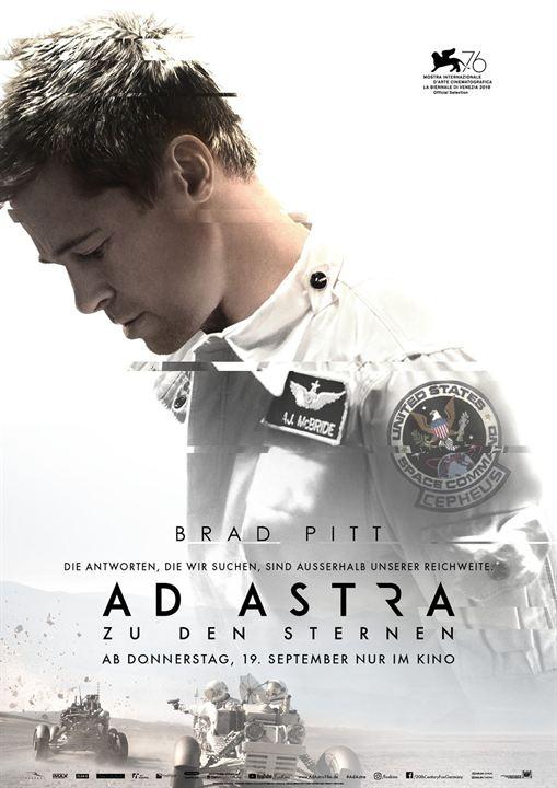 Ad Astra - Zu den Sternen : Kinoposter
